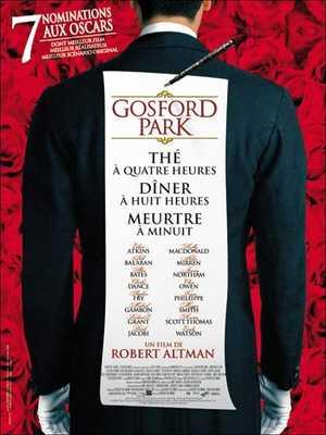 Gosford Park - Comédie dramatique, Thriller