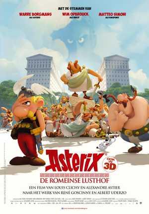 Astérix - Le domaine des dieux - Animation