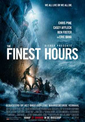 The finest hours - Thriller, Drame
