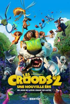 Les Croods 2: une nouvelle ère - Famille, Animation