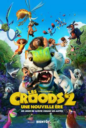 The Croods 2 - Famille, Animation