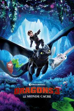 Dragons 3 : Le Monde Caché - Famille, Animation