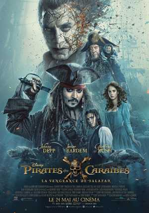 Pirates des Caraïbes : La Vengeance De Salazar - Action, Comédie, Aventure