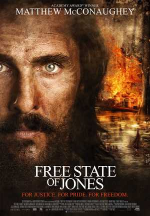 Free state of Jones - Film de guerre, Drame
