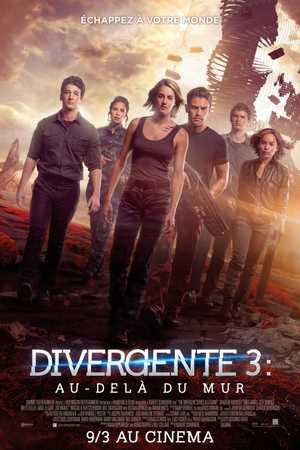 Divergente 3 : au-delà du mur - Science-Fiction, Aventure