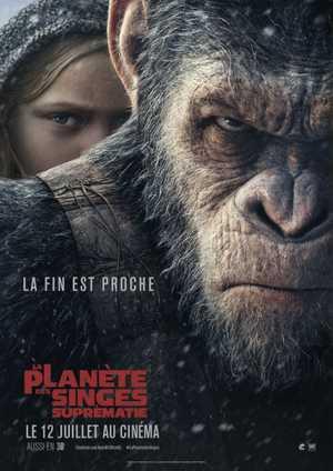 Les Planète des Singes : Suprématie - Action, Science-Fiction, Drame