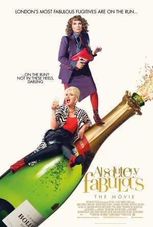 Absolutely fabulous : le film - Comédie