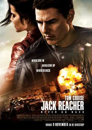 Jack Reacher : never go back - Action, Thriller