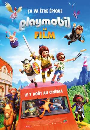 Playmobil : Le Film - Animation