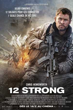 12 Strong - Action, Drame