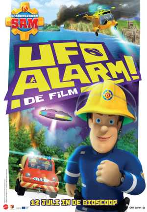 Brandweerman Sam: UFO Alarm - Famille, Animation