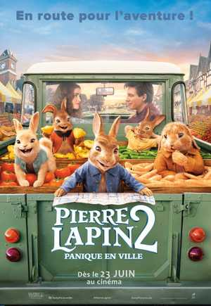 Pierre Lapin 2 : Panique en Ville - Animation