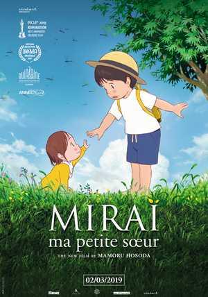 Mirai, ma Petite soeur - Drame, Aventure, Animation