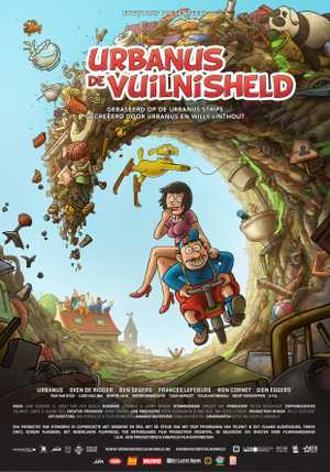 Urbanus: de Vuilnisheld - Animation