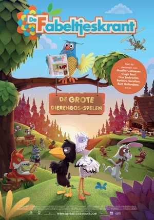 De Fabeltjeskrant : De Grote Dierenbos-Spelen - Animation
