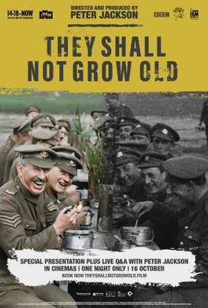 They Shall Not Grow Old - Documentaire, Film historique
