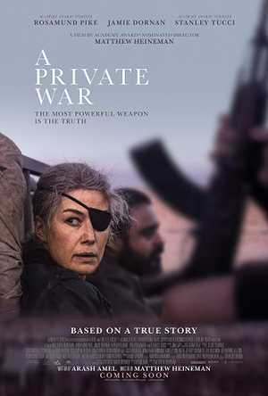 A Private War - Biographie, Film de guerre, Drame