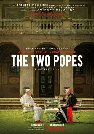 The Two Popes - Comédie dramatique
