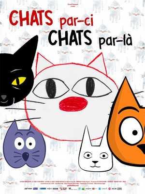 Chats par-ci chats par-là - Animation