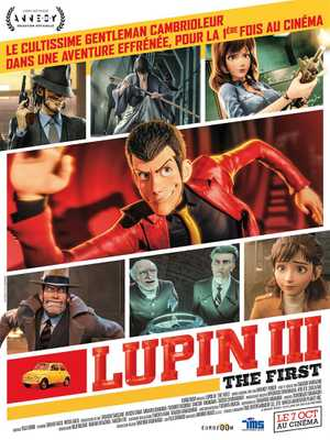 Lupin III : The First - Action, Animation