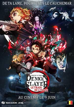 Demon Slayer: Le train de l'infini - Animation