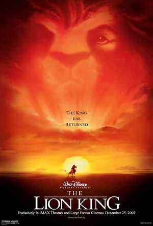 Le Roi Lion - Famille, Comédie, Animation