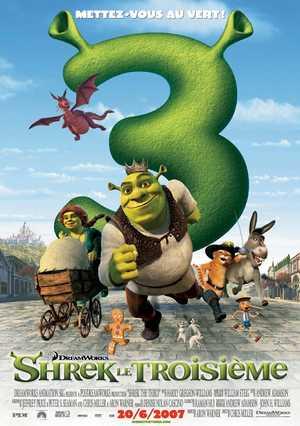 Shrek le troisième - Comédie, Animation