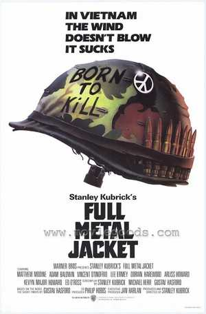 Full Metal Jacket - Film de guerre, Drame
