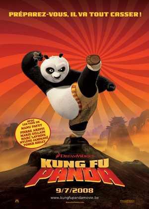 Kung fu panda - Comédie, Animation
