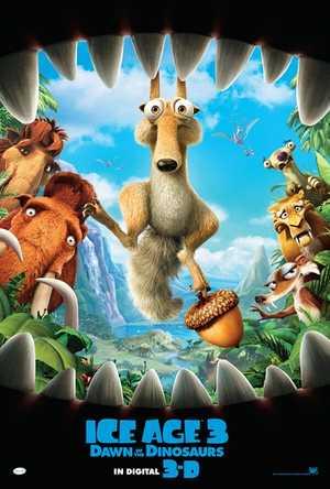 L'âge de glace 3: Le Temps des Dinosaures - Comédie, Animation