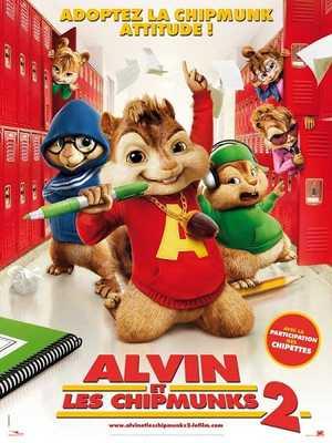 Alvin et les Chipmunks 2 - Famille, Comédie, Animation