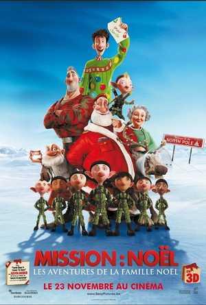 Mission Noël : Les Aventures de la Famille Noël - Animation