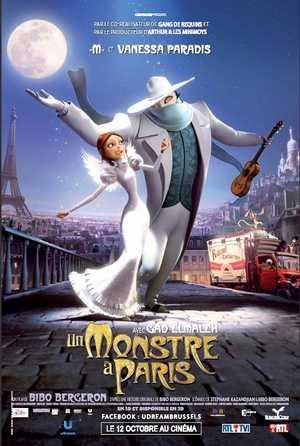 Un monstre à Paris - Animation