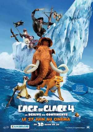 L'Age de Glace 4 : La Dérive des Continents - Famille, Comédie, Aventure, Animation
