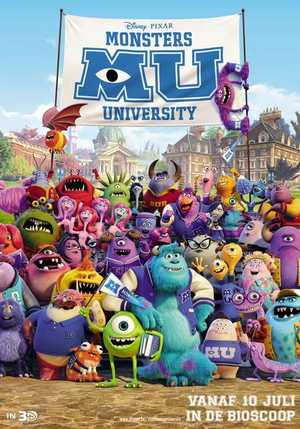 Monsters University - Komedie, Avontuur, Animatie Film