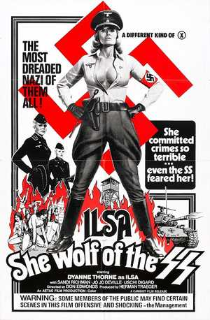 Ilsa: She Wolf of the SS - Horror, Thriller, Oorlogfilm