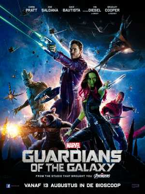 Guardians of the Galaxy - Actie, Science-Fiction, Avontuur