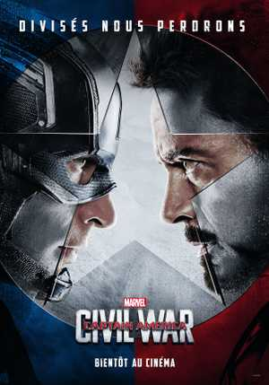 Captain America : Civil War - Actie, Science-Fiction, Avontuur