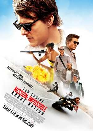 Mission Impossible : Rogue Nation - Actie, Thriller, Avontuur
