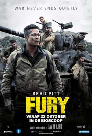 Fury - Oorlogfilm, Actie, Drama