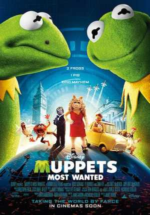 Muppets Most Wanted - Komedie, Avontuur