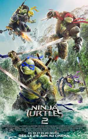 Teenage Mutant Ninja Turtles 2 - Actie, Avontuur