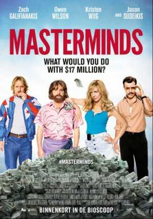 Masterminds - Actie, Komedie