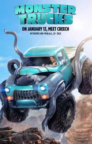 Monster Trucks - Actie, Animatie Film