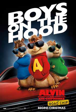 Alvin en de Chipmunks: Roadtrip - Familie, Animatie Film