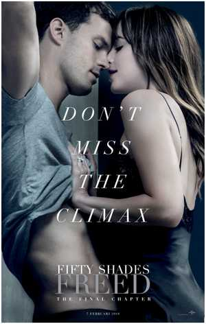 Fifty Shades Freed - Drama, Romantisch