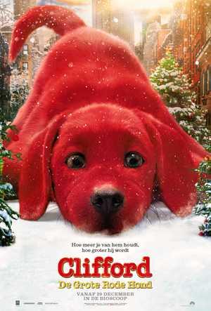 Clifford de Grote Rode Hond - Animatie Film