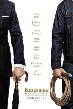 Kingsman : The Golden Circle - Actie, Komedie, Avontuur