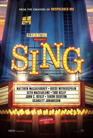 Sing - Animatie Film, Muziek