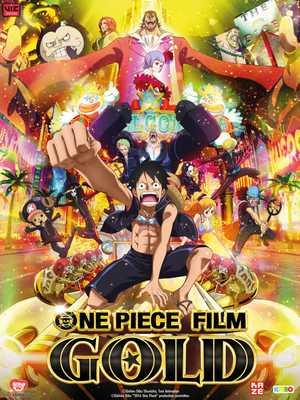 One Piece Film Gold - Actie, Avontuur, Animatie Film